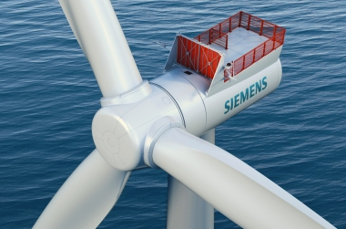 588-MW offshore wind farm to go ahead after positive investment decision. Siemens image.