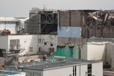Fukushima Daiichi five years after the 2011 meltdown. ABC: Yumi Asada