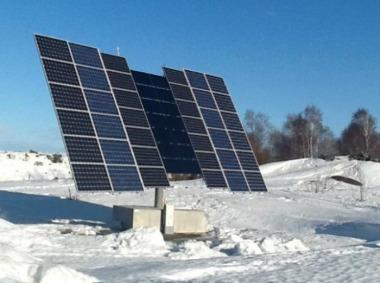 Swedish solar tracker. sciencenordic photo.