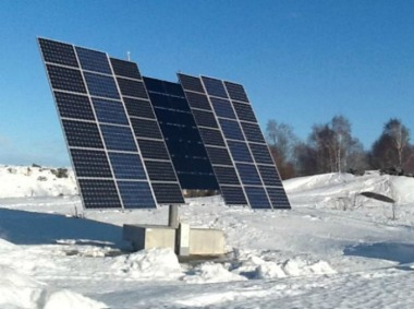 Swedish solar tracker. sciencenordic photo.