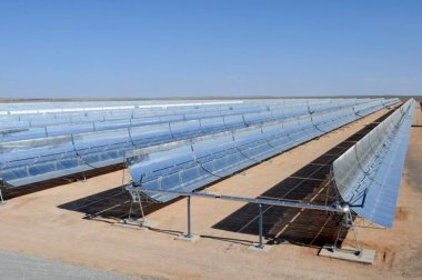 The world's largest solar power plant in Morocco. Photo credit: World Bank/ Dana Smillie.