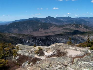 Eversource has proposed to bury 60 miles of the infrastructure in the White Mountain National Forest. Photo placed in the public domain by its author, Ken Gallager. Wikimedia Commons.