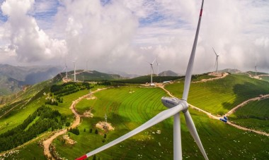 Windpower in China. Image from Wikipedia.