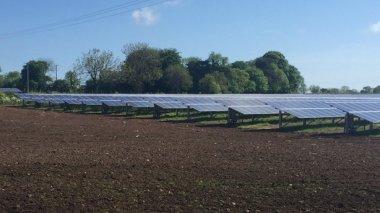 The 30-acre solar farm cost £5 million to build.