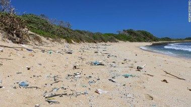 Hawaii's shorelines are littered with marine debris.