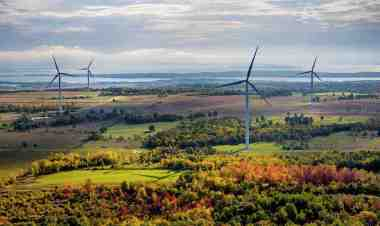 Wind farm in Australia.