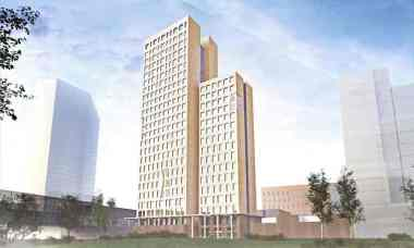 HoHo mixed-use wooden high-rise. Credit: Rüdiger Lainer and Partner