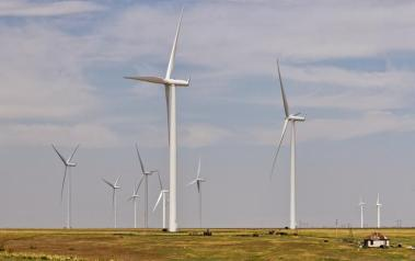 An existing wind park in Texas. Author: Kool Cats Photography over 2 Million Views. License: Creative Commons, Attribution 2.0 Generic