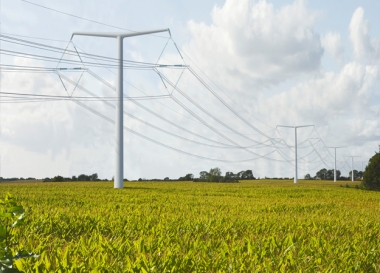 T pylon (National Grid)