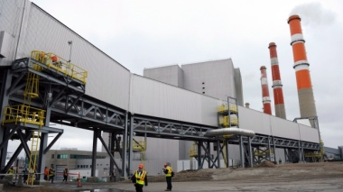 Saskatchewan's power utility says its carbon capture and storage project at Boundary Dam is the world's first commercial-scale operation of its kind. (Michael Bell/Canadian Press)