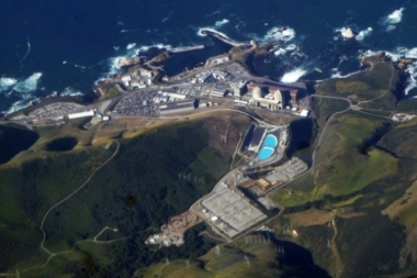 Diablo Canyon Nuclear Power Station, on the coast of California. Credit: Doc Searls/Flickr, CC BY-SA 2.0