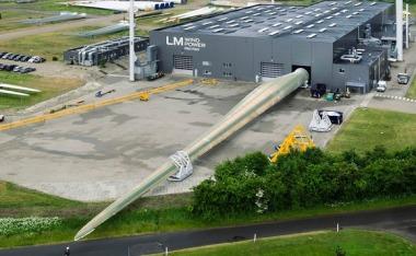 New 88-meter turbine blade