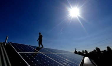 Solar power is set to capture almost all the investment in new generation. Justin McManus