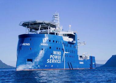 The vessel during sea trials (Ivan Schrooyen)