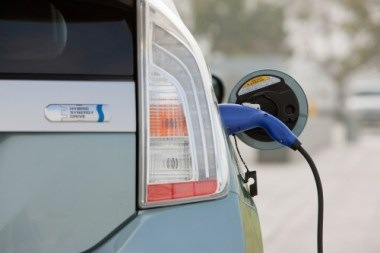 Toyota Prius Plugin charging