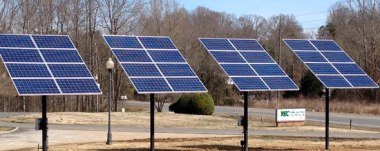 Fort Mill solar trackers