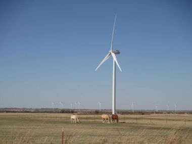 Kingfisher Wind farm in Oklahoma (Photo: Special to the News Journal)