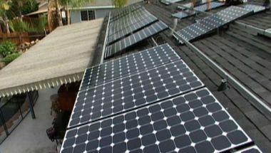 Solar panels on a San Diego home. Courtesy San Diego County News Center