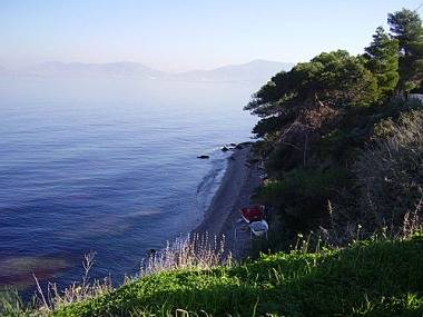 Salamina, Greece. Photo by Barba' s. Placed in the public domain. Wikimedia Commons.