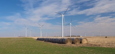 Flat Ridge wind project in Kansas.