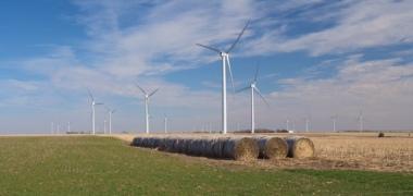 Flat Ridge wind project in Kansas.