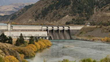 A big chunk of New Zealand's electricity comes from hydro stations. John Bisset.