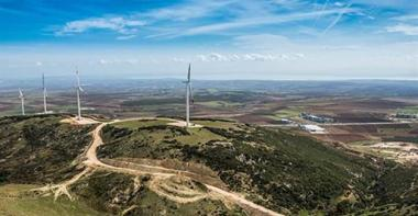 Wind farm in Turkey