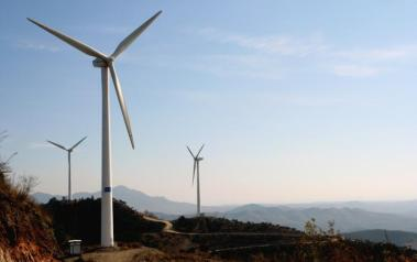 Wind farm in China. Author: Land Rover Our Planet. License: Creative Commons. Attribution-NoDerivs 2.0 Generic