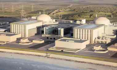 Illustration of Hinkley Point C nuclear station. Image: EDF Energy/PA