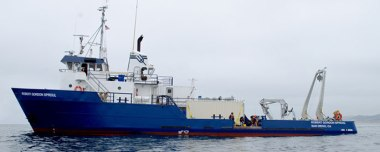 Scripps research vessel.