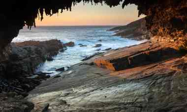 Admiral Arch on Kangaroo Island in Flinders Chase national park. Photo: Alamy