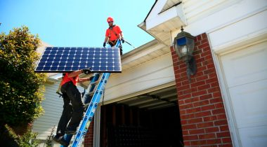 Installation. Photo courtesy of Renovate America, which operates HERO PACE.