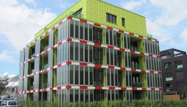 The BIQ House in Hamburg.