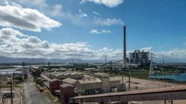 Port Augusta's coal power station closed in May.
