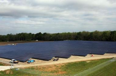 KCP&L's Greenwood Energy Center solar array. Photo provided.