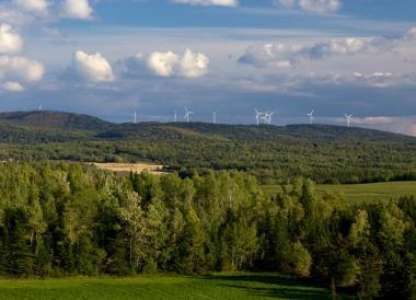 EDF EN's La Mitis wind farm in Quebec (EDF EN)
