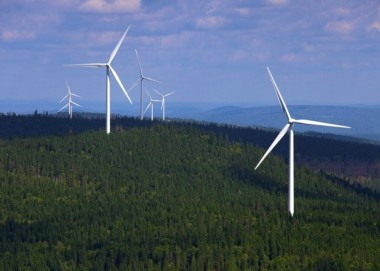 EDF wind farm in Quebec.