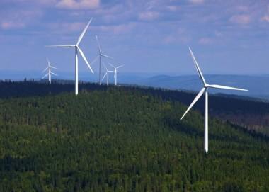 EDF wind farm in Quebec.