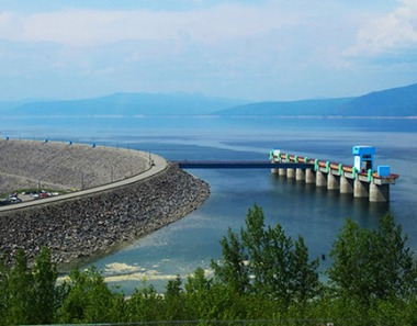 British Columbia's power grid is fed in large part by hydro power. Image credit:BC Hydro.Com.