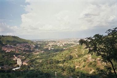 Nigerian countryside.