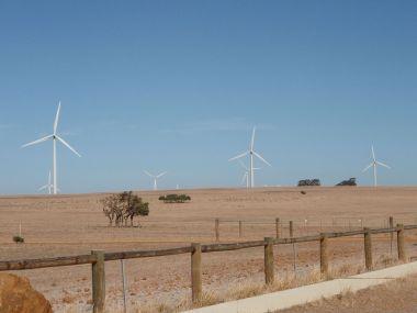 Emu Farm Wind. Photo by malagaguy. CC BY-SA 3.0. Wikimedia Commons.