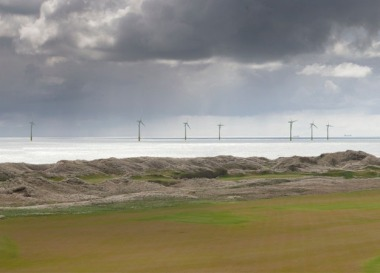 Rendering of the project Donald Trump opposed, saying it would ruin the view from his golf course. (Vattenfall image)