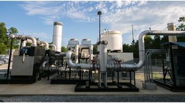 Republic landfill gas site.