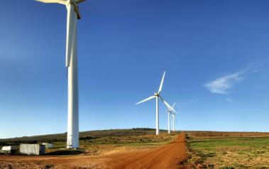 The Darling wind farm in South Africa. Author: warrenski. License: Creative Commons, Attribution-ShareAlike 2.0 Generic