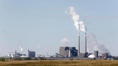 Great River Energy's Coal Creek Station in Underwood, ND. Photo credit: Logan Werlinger/Grand Forks Herald.