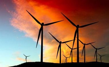 Texas wind farm.