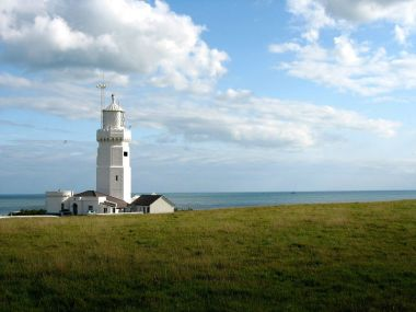 Lighthouse on the Isle of Wight