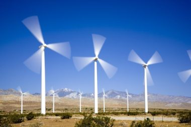 Great wind energy deals are swaying major players. Credit: Energy.gov via AWEA.org.