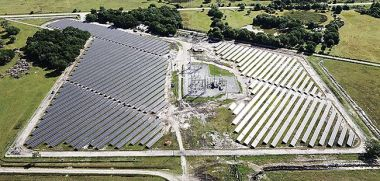 Osceola Solar Facility. Duke Energy Photo.