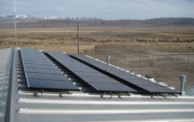 Rooftop solar system in Nevada. Author: Pacific Southwest Region. License: Creative Commons, Attribution 2.0 Generic
